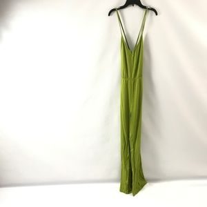 Women's Strappy Jumpsuit Stretch Open Back Size S